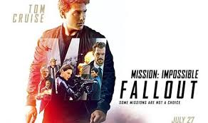 Movie jacket for Mission: Impossible Fallout