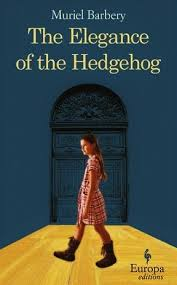 Book cover of Muriel Barbery's book The Elegance of the Hedgehog