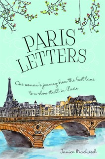 Photo of the cover of Paris Letters by Janice MacLeod