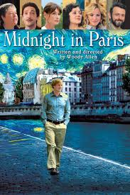 Movie jacket for Midnight in Paris