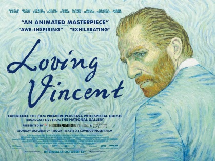 The movie poster for Loving Vincent
