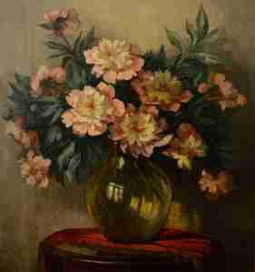 Peonies by Jeannette Slager