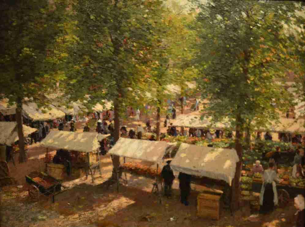Markt op de Parade by Carel Cordes