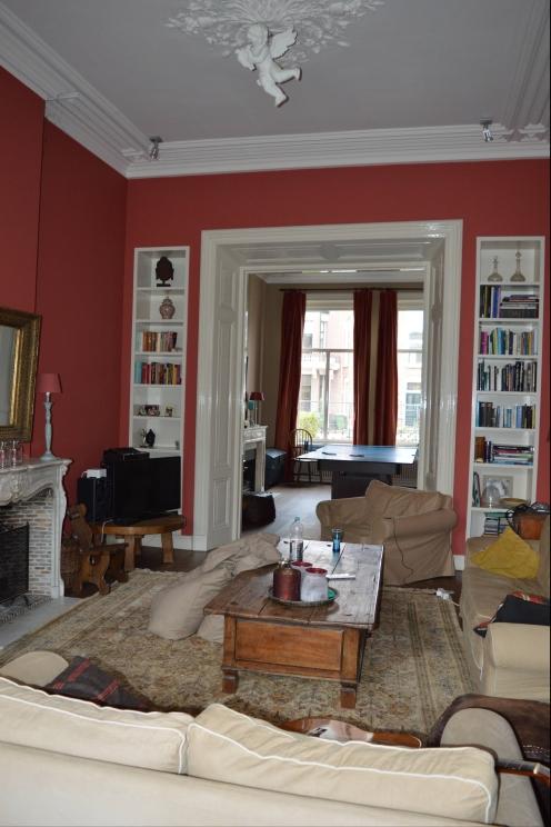 A friend's living room in Breda