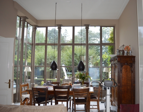 A friend's dining room in Breda