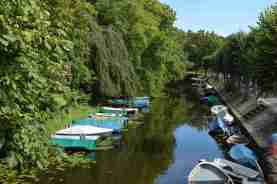 Boats near Naarden-Vesting