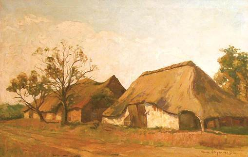 Dutch houses by Marie Slager-van Gilse