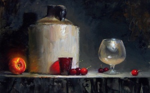 Still life by Piet Slager