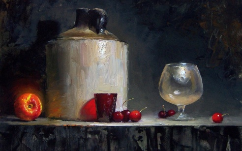 Still life by Piet Slager