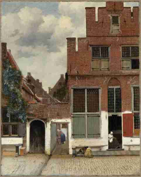 The Little Street by Johannes Vermeer