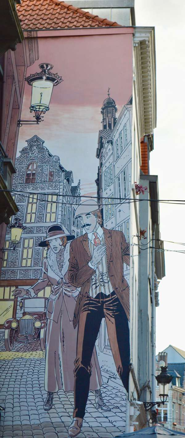 Victor Sackville mural by Carin