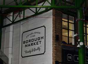 Borough Market, London England